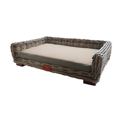 Barkley & Bella Wicker Pet Bed