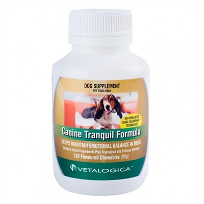 Canine Tranquil Formula 120 chews