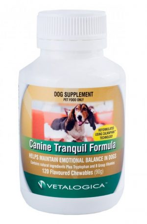 Canine Tranquil Formula 120's