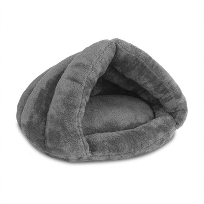 Cave Style Pet Bed Grey