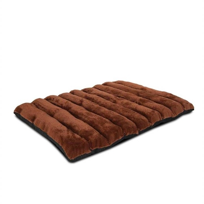 Roll-Up Portable Pet Travel Bed Brown