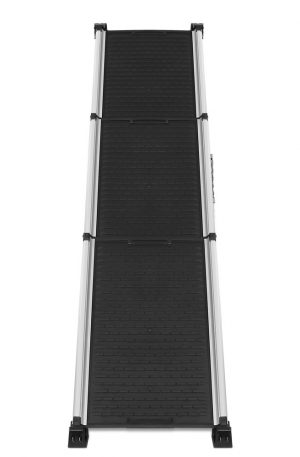 i.Pet Deluxe Aluminium Foldable Pet Ramp – Black